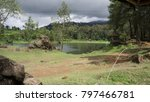 lake and landscape  | Shutterstock . vector #797466781