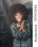 "Small photo of Amara La Negra arrives at the Launch Party for Stevie J aka ""Sleazy J"" in Atlanta Georgia USA at the Revel in Atlanta on January 18th 2018"