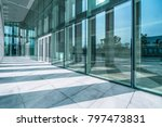 modern office building outdoors ... | Shutterstock . vector #797473831