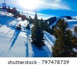 afternoon shadows at aspen ... | Shutterstock . vector #797478739