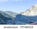 colorado mountain highway | Shutterstock . vector #797480329