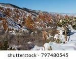 roxborough state park in... | Shutterstock . vector #797480545