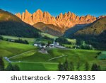 photo of the italians alps at... | Shutterstock . vector #797483335