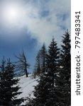 winter landscape  stock image | Shutterstock . vector #797483341