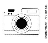 camera photographic isolated...   Shutterstock .eps vector #797485531