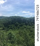 mountains of virginia | Shutterstock . vector #797486725