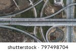 aerial view of a highway... | Shutterstock . vector #797498704