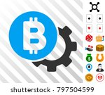 bitcoin options gear icon with...