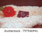 "love present ""neck let"" in a... | Shutterstock . vector #797546941"