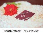 "love present ""neck let"" in a... | Shutterstock . vector #797546959"