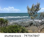 looking out from kings beach in ... | Shutterstock . vector #797547847