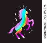 mythology illustration set of... | Shutterstock .eps vector #797592775
