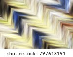colorful zigzag striped pattern ... | Shutterstock . vector #797618191