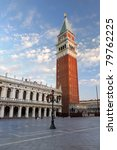 Venice. St. Mark's Square And...