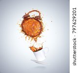 creative concept of wake up for ... | Shutterstock . vector #797629201