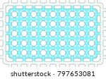 colorful pattern for carpets ... | Shutterstock . vector #797653081