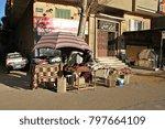 cairo  egypt   2 january 2018 ... | Shutterstock . vector #797664109