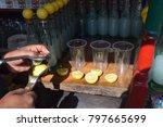 Small photo of Making leman soda
