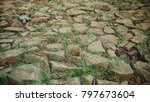 traditional paving stone | Shutterstock . vector #797673604