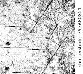 abstract grunge grey dark... | Shutterstock . vector #797680351