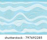 blue overlay stripes.blue... | Shutterstock . vector #797692285