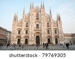 milan   december 17  milan...   Shutterstock . vector #79769305