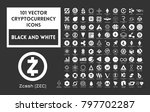 big set of vector black and...   Shutterstock .eps vector #797702287