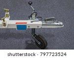 automotive trailer coupling lock | Shutterstock . vector #797723524