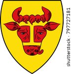 coat of arms of coesfeld is the ...