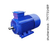 industrial electric motor... | Shutterstock . vector #797731489