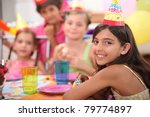 children's birthday party | Shutterstock . vector #79774897