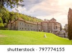 cantacuzino castle built in neo ... | Shutterstock . vector #797774155