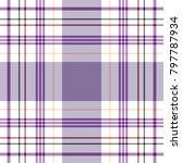 tartan traditional checkered... | Shutterstock .eps vector #797787934