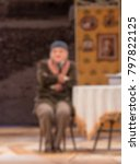 theater play theme creative... | Shutterstock . vector #797822125