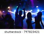 party  holidays  celebration ... | Shutterstock . vector #797823421