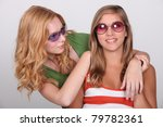 two young blonde women | Shutterstock . vector #79782361