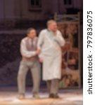 theater play theme creative... | Shutterstock . vector #797836075