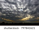 Small photo of Black Altocumulus cloud