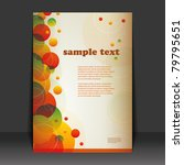 flyer design | Shutterstock .eps vector #79795651