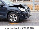 crashed car | Shutterstock . vector #79812487
