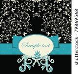 template frame design for... | Shutterstock .eps vector #79869568