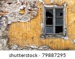 Broken Window On The Yellow ...