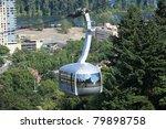 Aerial Tram  Portland Oregon.