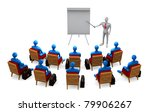 group of students and teacher... | Shutterstock . vector #79906267