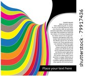 bright colorful design  page... | Shutterstock .eps vector #79917436