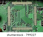 printed circuit board | Shutterstock . vector #799227