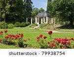 Stock photo castle garden zruc nad sazavou europe czech republic 79938754