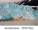 Blue Ice Of The Child's Lacier...