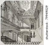 old illustration of ecole... | Shutterstock . vector #79949029