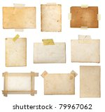 collection of various  old... | Shutterstock . vector #79967062